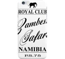 Zambesi Safari iPhone Case/Skin
