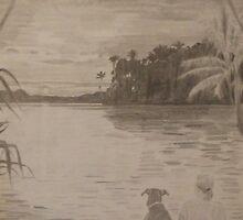 Sunset in Fiji by Mark Murphy