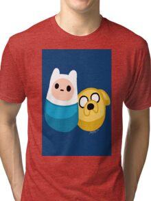 Adventure Time Finn and Jake Tri-blend T-Shirt