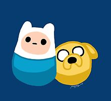 Adventure Time Finn and Jake by mayiying89