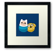 Adventure Time Finn and Jake Framed Print