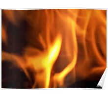 White Hot - Dancing Fire Poster