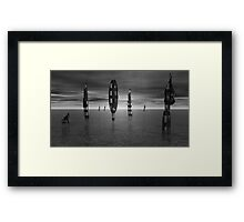 Love and Understanding in an Alien World Framed Print