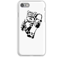 Jawa Skateboarder Stencil iPhone Case/Skin