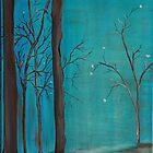Misty Path by Dawn  Hawkins