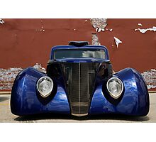 Blue Woody Photographic Print
