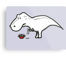 T-Rex Problems Metal Print