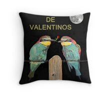 Dia Feliz De Valentinos, Be My Valentine, Bee Eaters Throw Pillow