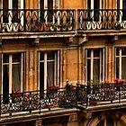Left Bank Balconies by Mick Burkey