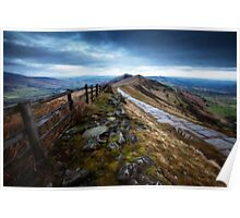 Mam Tor Ridge Derbyshire Poster