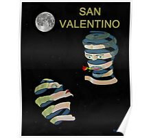 San Valentino, Be My Valentine, Two heads Poster