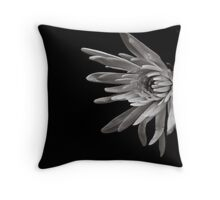 Into the dark, I reach for the light Throw Pillow