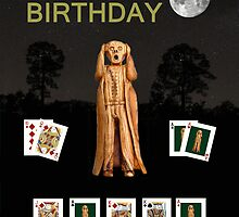 Happy Birthday Scream Poker by Eric Kempson
