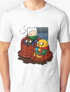 Finn and Jake Really Big Sweaters  Unisex T-Shirt