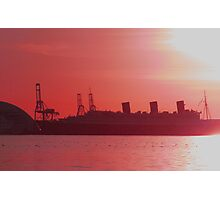 Queen Mary Photographic Print