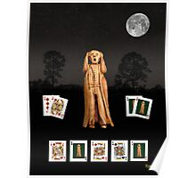 Poker Scream Poster