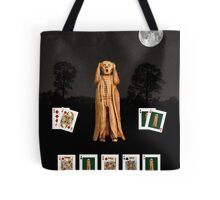 Poker Scream Tote Bag