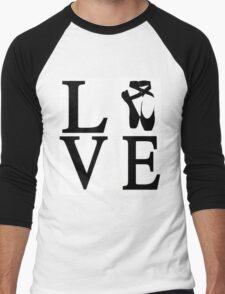 Love Ballet Men's Baseball ¾ T-Shirt