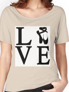 Love Ballet Women's Relaxed Fit T-Shirt