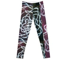 Purple Anemone Leggings