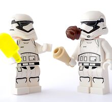 Do you think snowtroopers have this problem? by Tom Milton