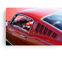 Mustang Angles Canvas Print
