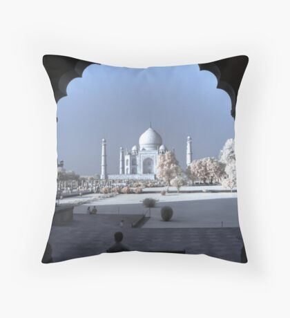 The Taj Throw Pillow