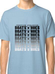 Boats N' Hoes geek funny nerd Classic T-Shirt