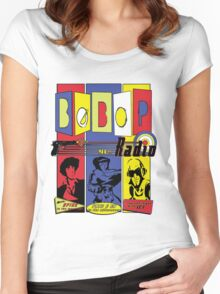 Radio Bebop Women's Fitted Scoop T-Shirt