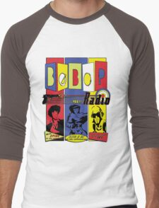 Radio Bebop Men's Baseball ¾ T-Shirt