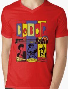 Radio Bebop Mens V-Neck T-Shirt