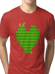 8-Bit Love Tri-blend T-Shirt