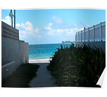 walkway to paradise Poster