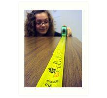 measurements Art Print