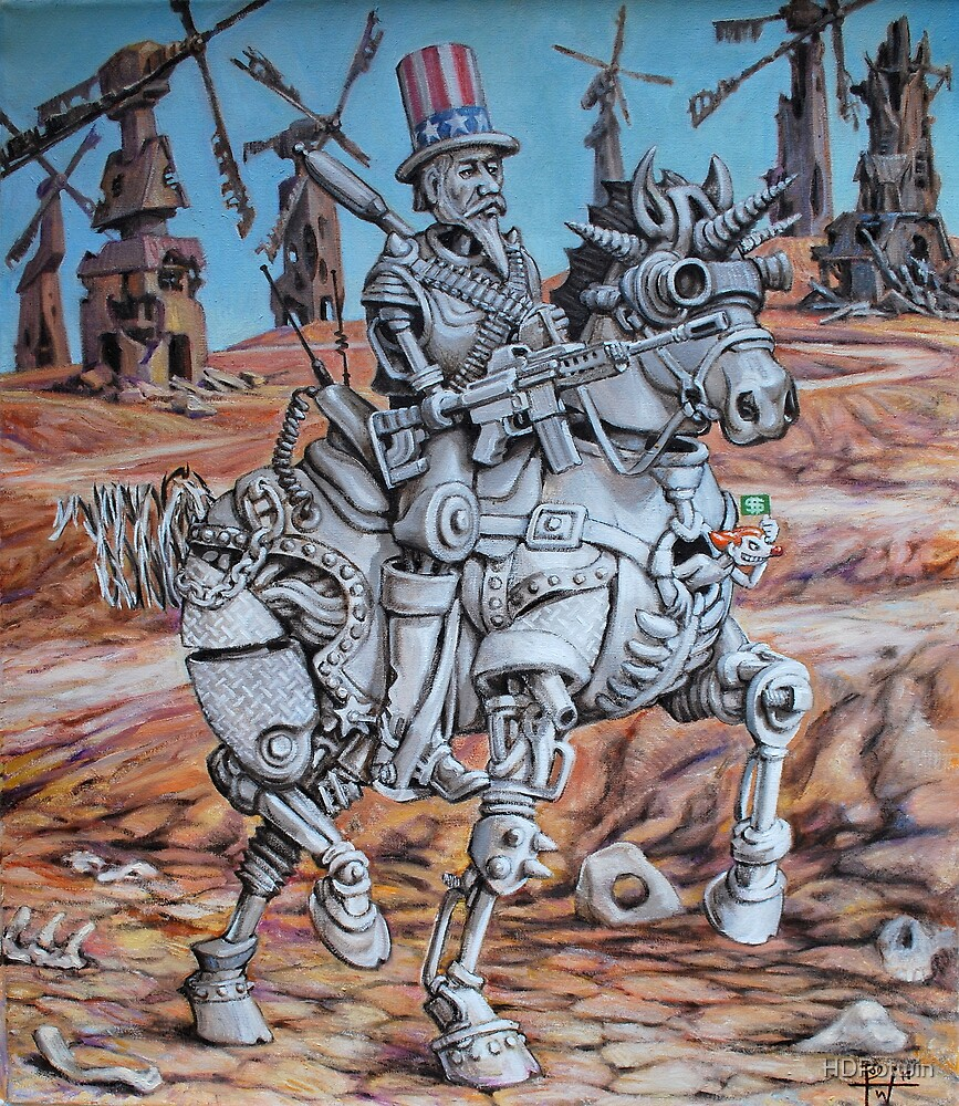 Quixote Sam by HDPotwin
