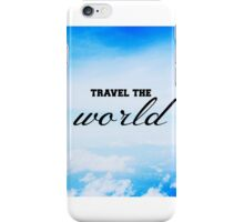 Travel The World iPhone Case/Skin