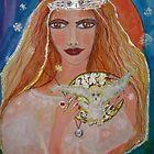 Winter  Arianrhod Welsh Goddess by eoconnor