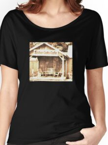"""Sister Cats Cafe""... prints and products Women's Relaxed Fit T-Shirt"