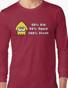 Splatoon Fresh Shirt (Yellow) Long Sleeve T-Shirt