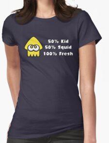 Splatoon Fresh Shirt (Yellow) Womens Fitted T-Shirt