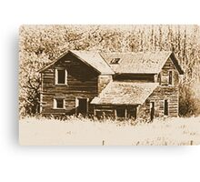 Memories Of The Old Homestead Canvas Print