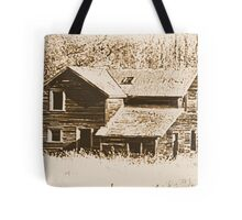 Memories Of The Old Homestead Tote Bag