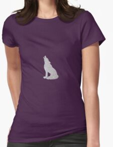 Dumbledore Wolf Womens Fitted T-Shirt