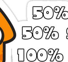 Splatoon Fresh Shirt (Orange) Sticker