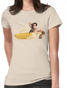 Banana Cage Womens Fitted T-Shirt