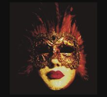 Venetian Mask by Linda More