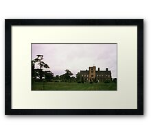 Canons Ashby House, Northamptonshire Framed Print