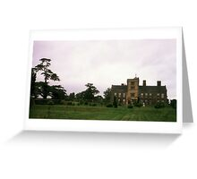 Canons Ashby House, Northamptonshire Greeting Card