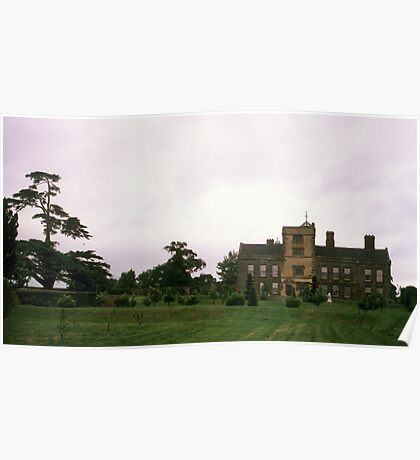 Canons Ashby House, Northamptonshire Poster