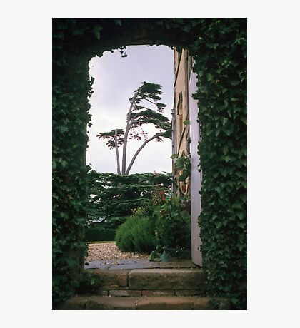 Entrance arch at Canons Ashby house Photographic Print